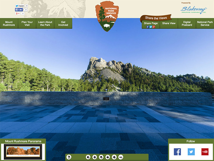 Mount Rushmore 360 Gigapixel Photo
