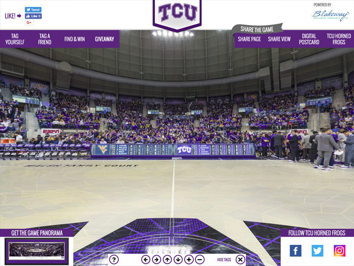TCU Horned Frogs 360 Gigapixel Fan Photo