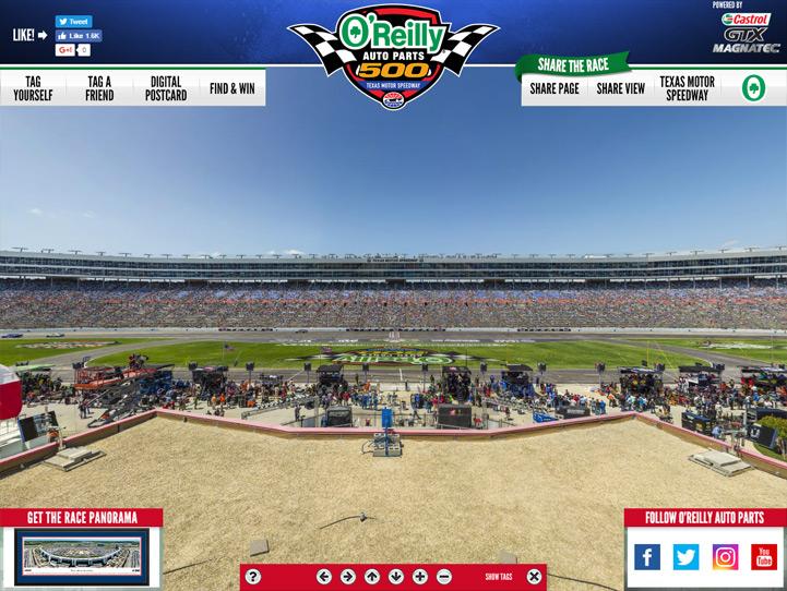 Texas Motor Speedway 360 Gigapixel Fan Photo