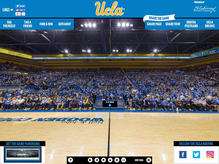 UCLA Bruins 360 Gigapixel Fan Photo