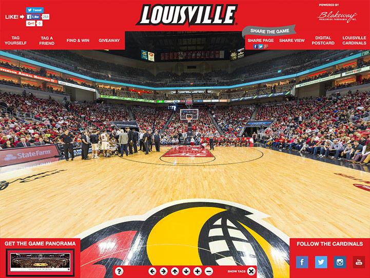 Louisville Cardinals 360 Gigapixel Fan Photo