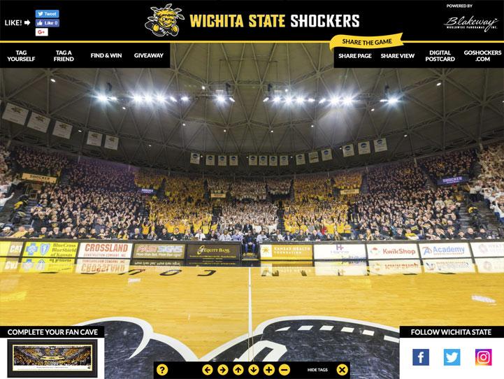 Wichita State Shockers 360 Gigapixel Fan Photo