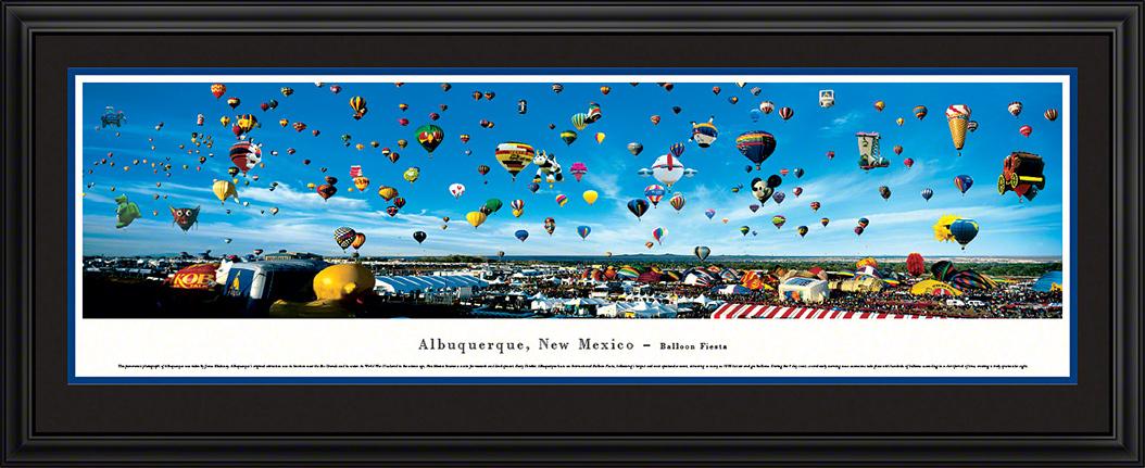 Albuquerque Balloon Fiesta Deluxe Framed Panorama