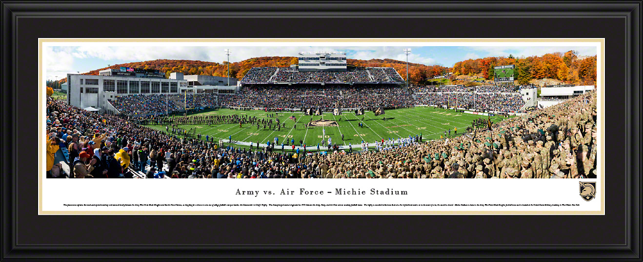 Army Black Knights Panoramic Poster Print