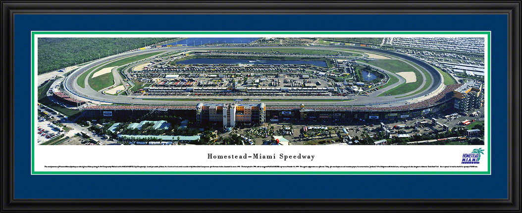 Homestead-Miami Speedway Deluxe Framed Panorama