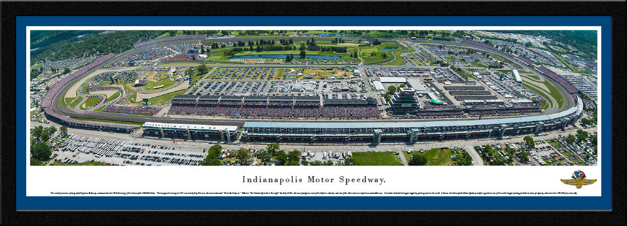 Indianapolis Motor Speedway Panoramic Picture - 100th Anniversary Indy 500