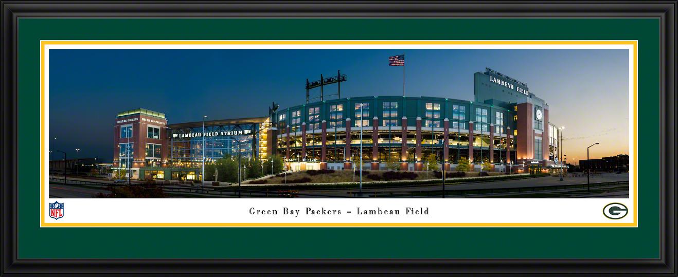 Green Bay Packers - Lambeau Field Panoramic Fan Cave Wall Decor
