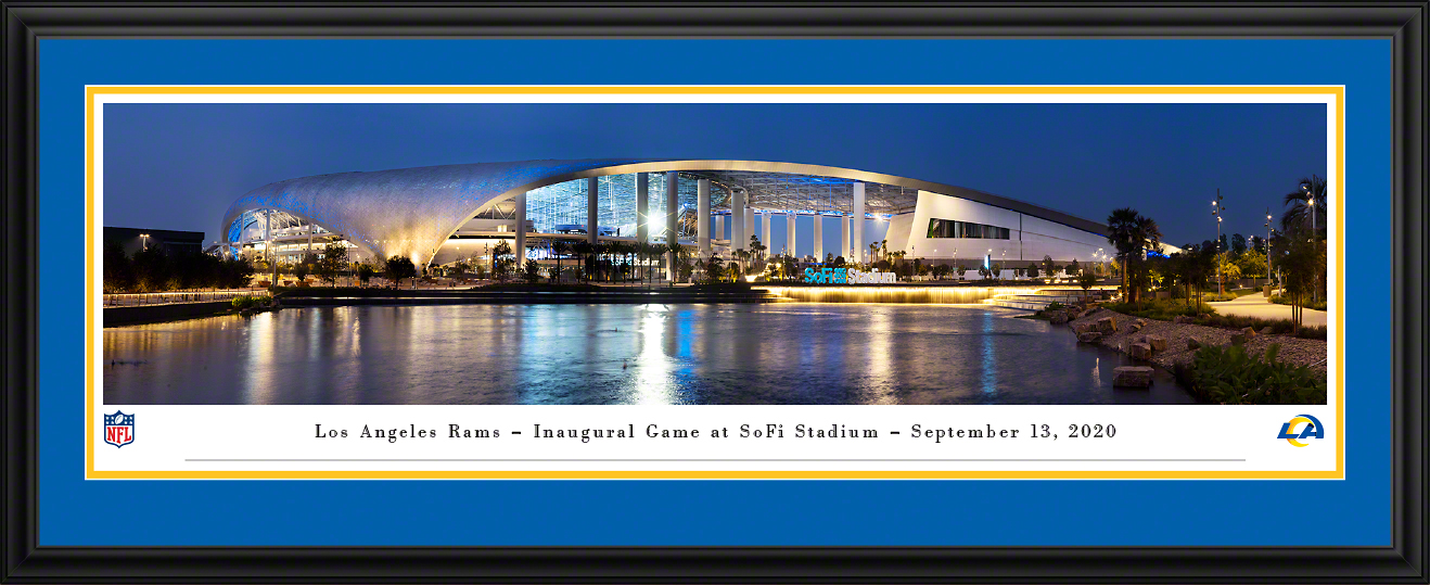 Los Angeles Rams - SoFi Stadium Panoramic Wall Decor
