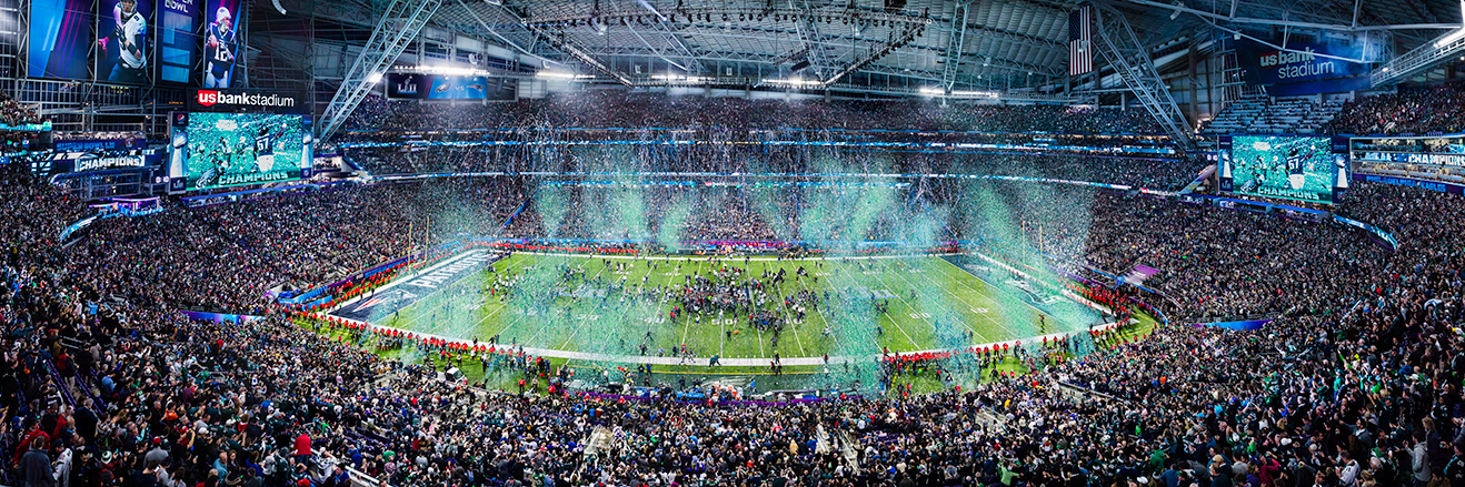 2018 Super Bowl LII Panoramic Picture