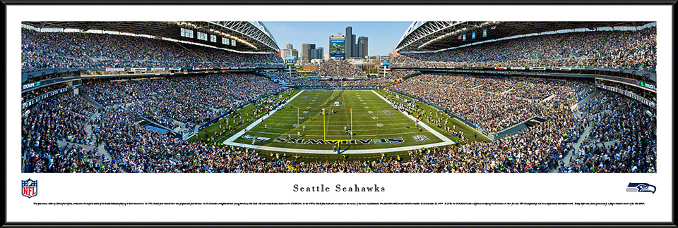 Seattle Seahawks NFL Standard Framed Panorama