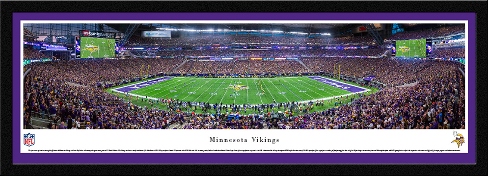 Minnesota Vikings Select Framed Panorama