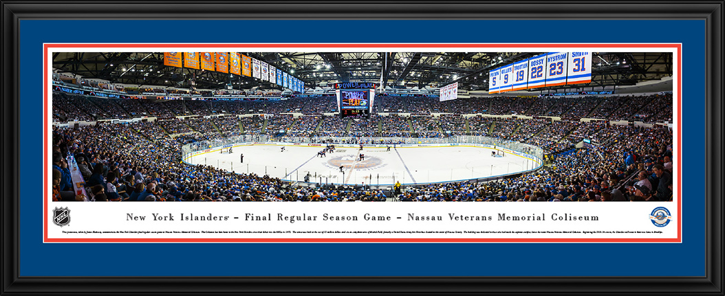 New York Islanders Deluxe Framed Panorama