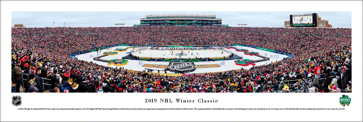 2019 NHL Winter Classic Panoramic Wall Decor