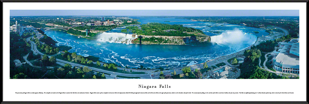 Niagara Falls Panoramic Wall Decor