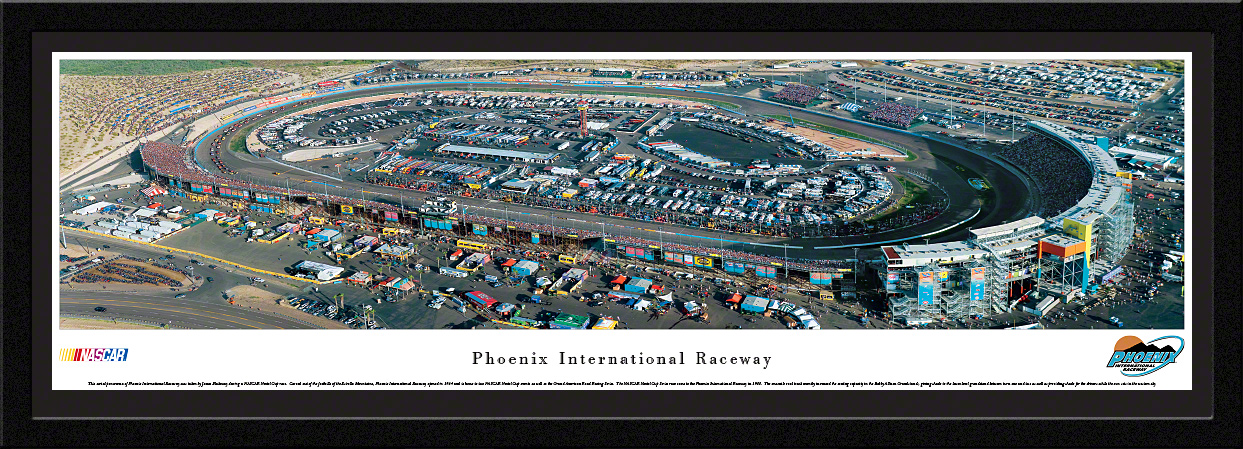 Phoenix International Raceway NASCAR Track Select Framed Panorama