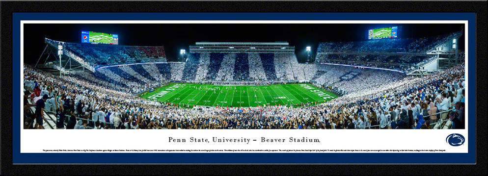 Penn State Nittany Lions Select Framed Panorama