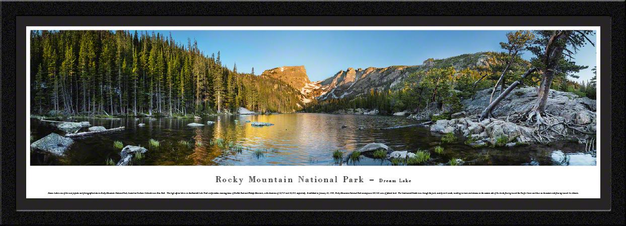 Rocky Mountain National Park Panoramic Wall Decor