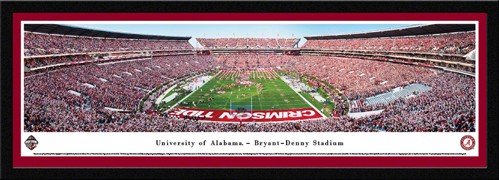 Alabama Crimson Tide Select Framed Panorama