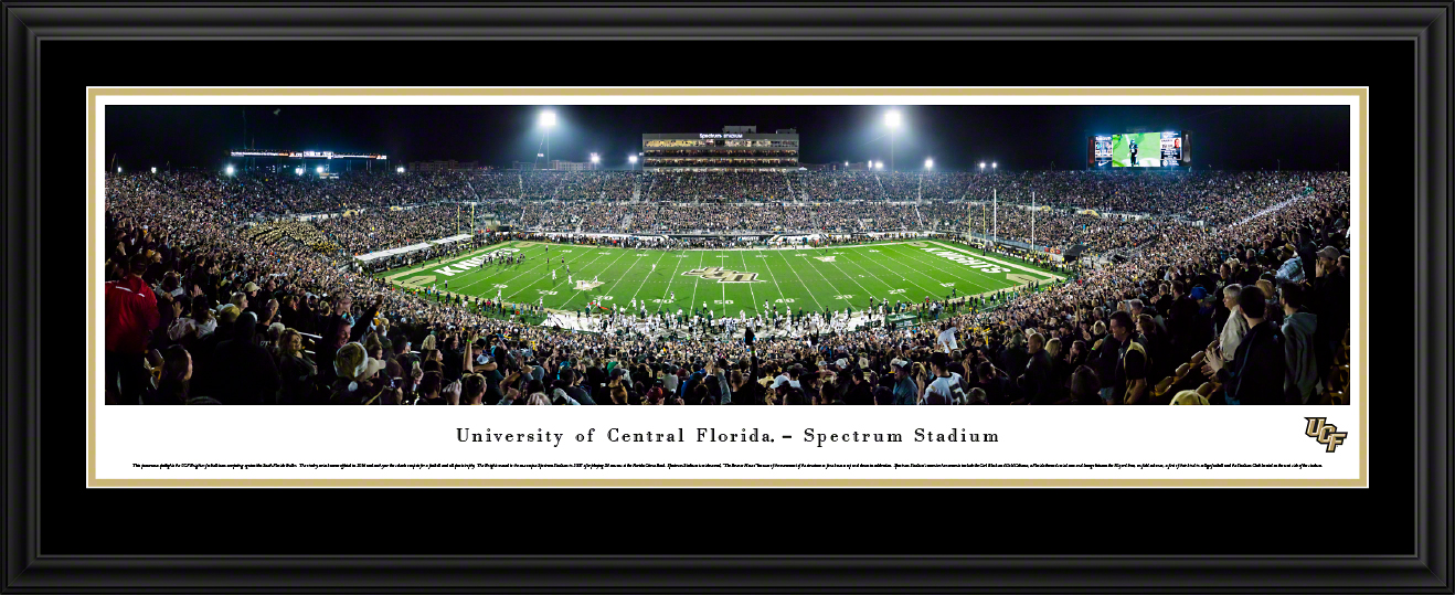 UCF Knights Football Deluxe Framed Panorama
