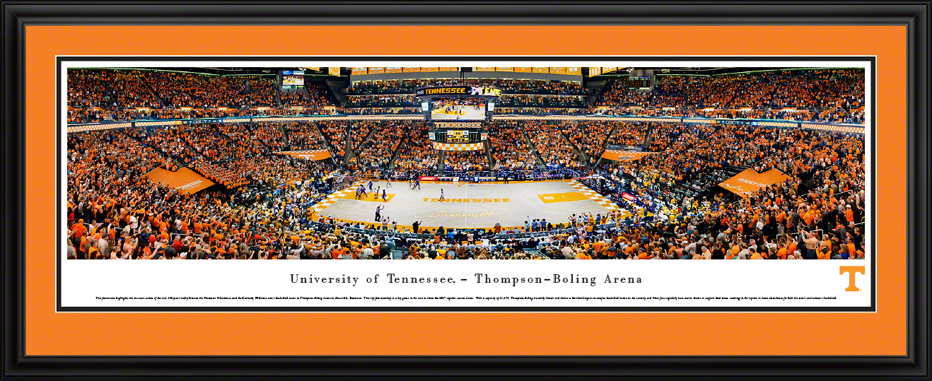 Tennessee Volunteers Panoramic Poster - Thompson-Boling Arena