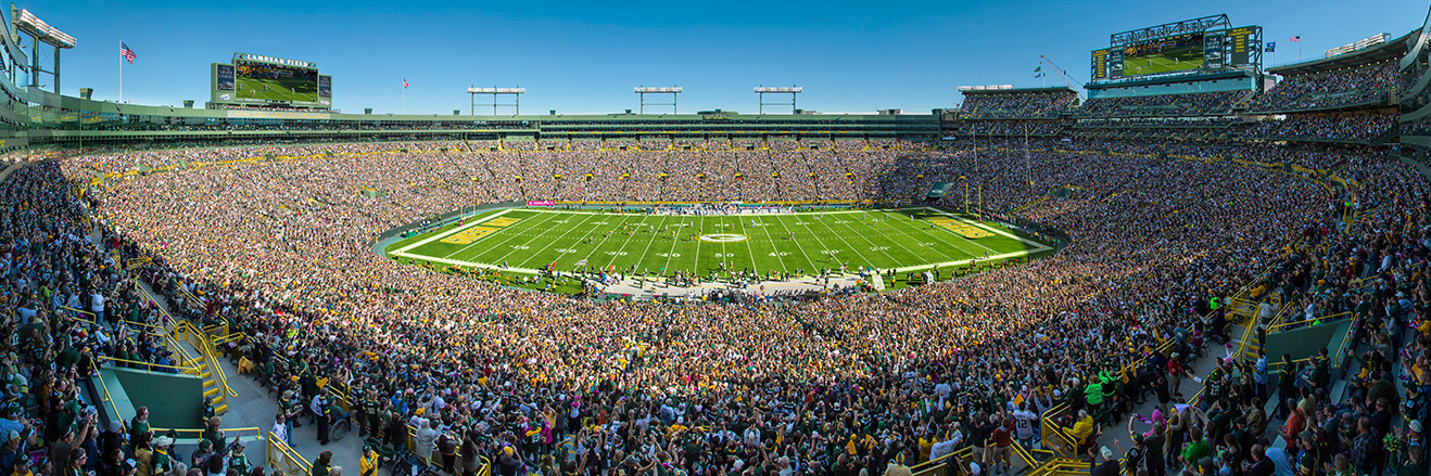 Green Bay Packers Panoramic Picture - Lambeau Field