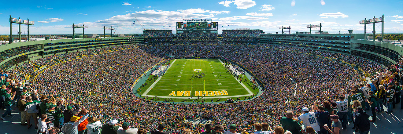 Green Bay Packers Panoramic - Lambeau Field Picture