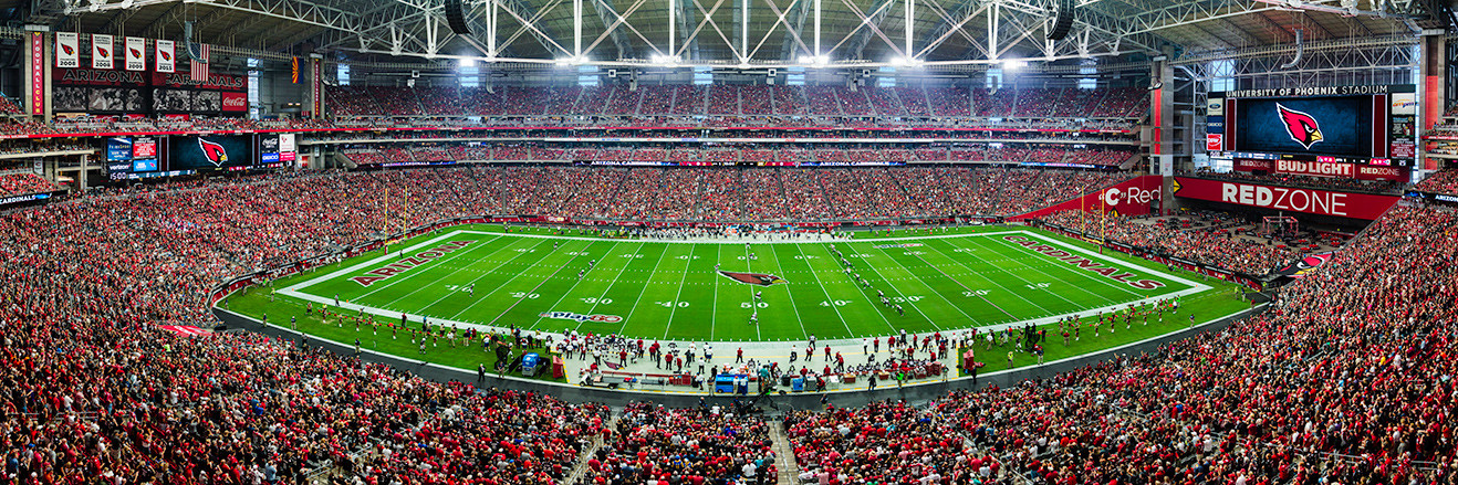 Arizona Cardinals Panoramic Picture - University of Phoenix Stadium Panorama