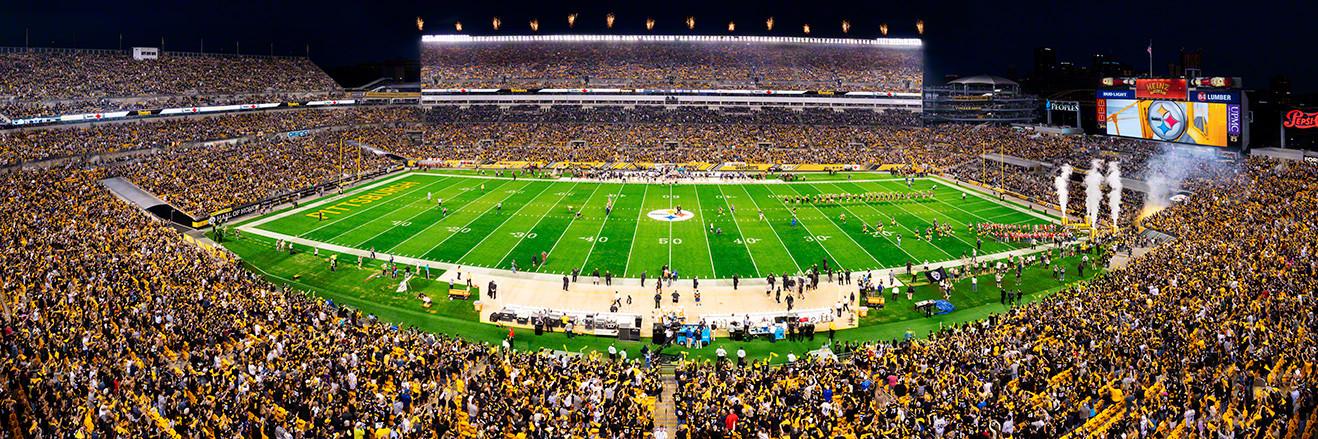 Pittsburgh Steelers Panorama - Heinz Field Panoramic Picture