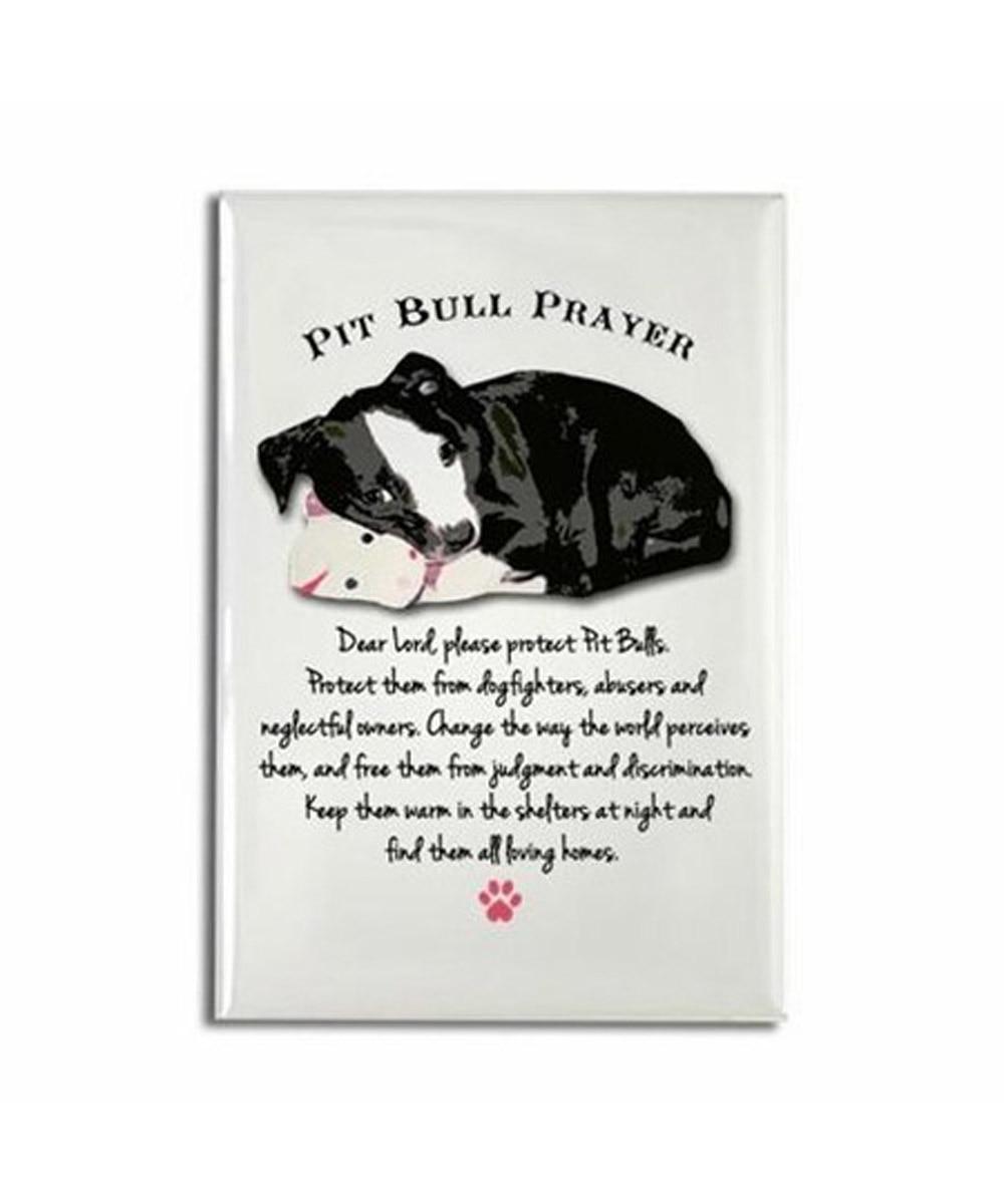 Pit Bull Prayer Magnet