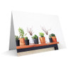 """""""Bench of Plants"""" Card"""
