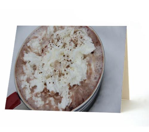 """Hot Chocolate"" Card"