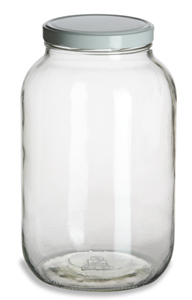 gallon glass pickle jar 128oz specialty bottle