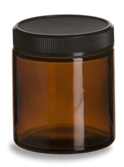 Amber Glass Salve Jar 4oz Specialty Bottle
