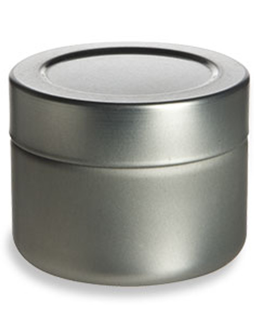 Tin Deep Container 3oz W Twistlug Cover