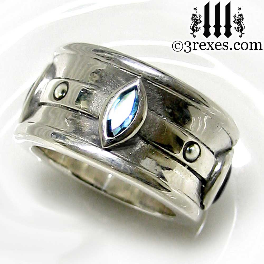Moorish Marquise Wedding Ring 3 Rexes Jewelry