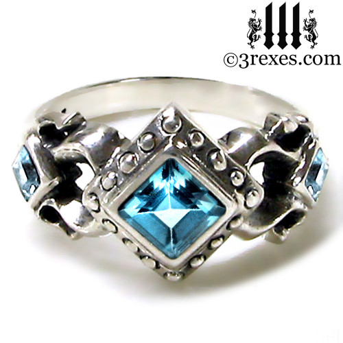 Royal Princess Gothic Engagement Ring