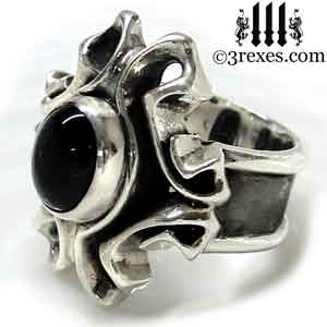 empress-gothic-ring-925-sterling-silver-black-onyx-statement-jewelry-side-detail-3-rexes-jewelry