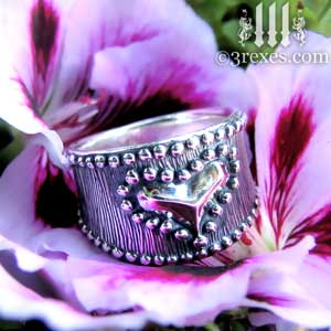 medieval-silver-studded-heart-ring-side-on-flower-3-rexes-jewelry-300.jpg