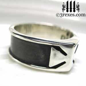 mens-knights-templar-silver-rings-iron-cross-ring-maltese-dark-patina-side