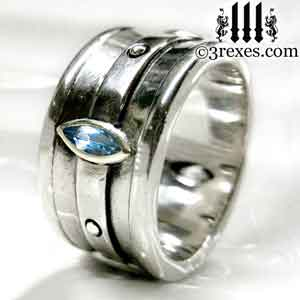 mens-silver-moorish-marquise-engagement-ring-blue-topaz-stone-december-birthstone-3-rexes-jewelry