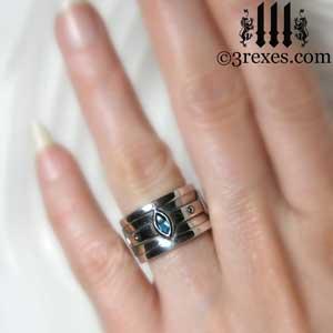 silver-moorish-marquise-wedding-ring-blue-topaz-stone-december-birthstone-3-rexes-jewelry