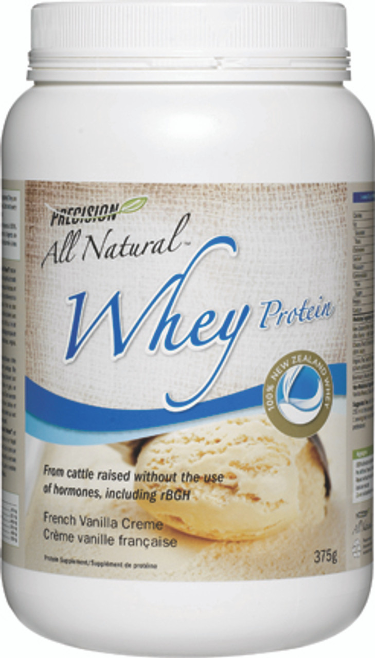 Precision All Natural Whey Protein French Vanilla Creme (375 g)