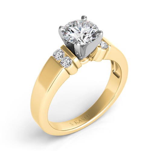 Diamond Engagement Ring  in 14K Yellow Gold   EN6641YG