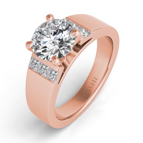 Diamond Engagement Ring  in 14K Rose Gold   EN7422RG