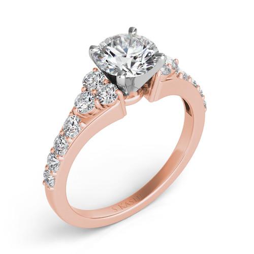 Diamond Engagement Ring  in 14K Rose Gold    EN7154RG