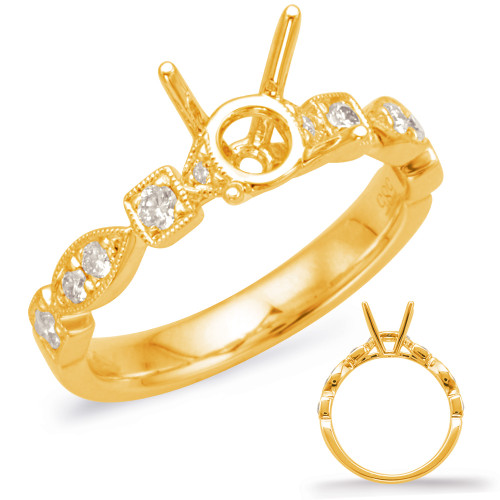 Diamond Engagement Ring  in 14K Yellow Gold    EN7970-75YG