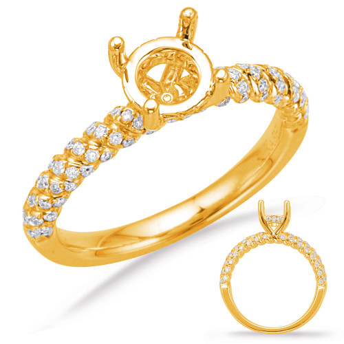 Diamond Engagement Ring  in 14K Yellow Gold    EN7994-1YG
