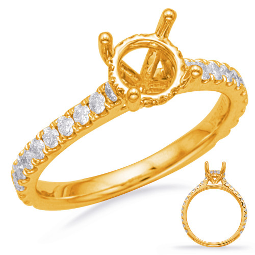Diamond Engagement Ring  in 14K Yellow Gold    EN8183-1YG