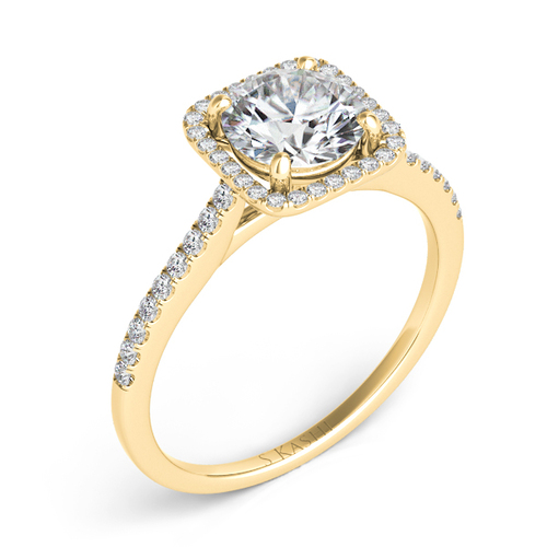 Diamond Engagement Ring  in 14K Yellow Gold    EN7330-50YG