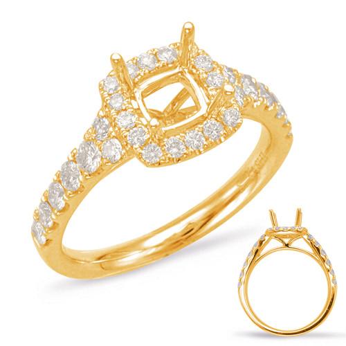 Diamond Engagement Ring  in 14K Yellow Gold    EN7848-75YG